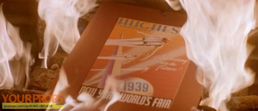 The Rocketeer replica movie prop