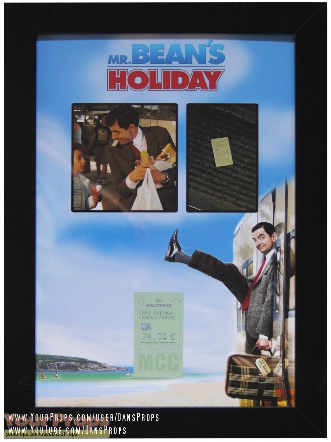 Mr  Beans Holiday original movie prop