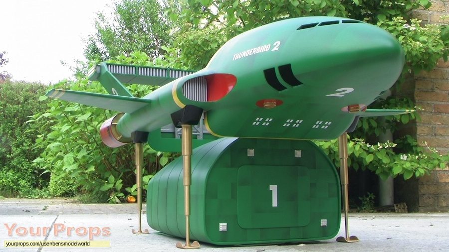 Thunderbirds made from scratch model   miniature