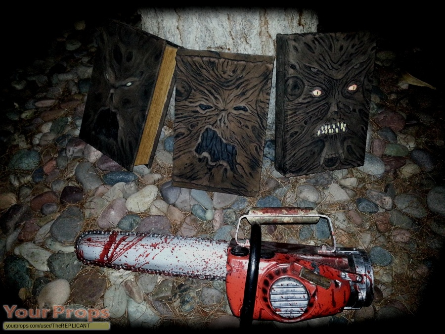Evil Dead 2 made from scratch movie prop weapon