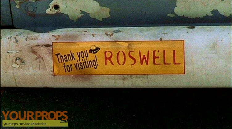 Roswell replica movie prop