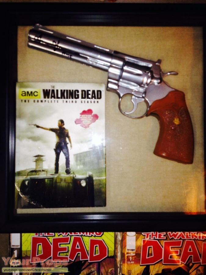 The Walking Dead original movie prop