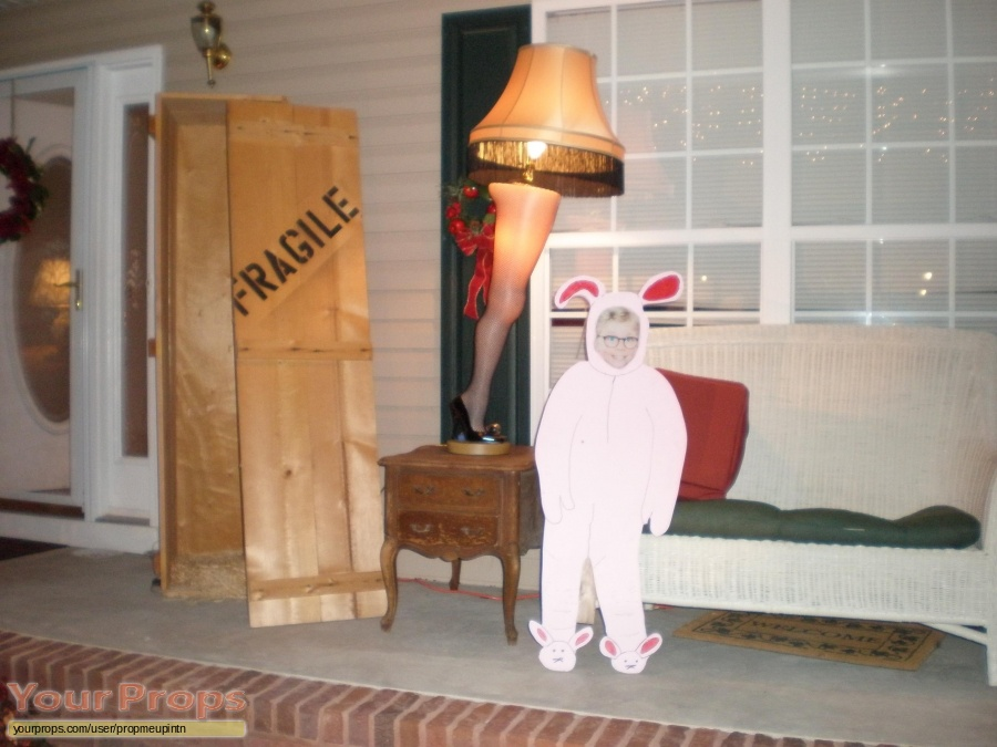 A Christmas Story made from scratch movie prop