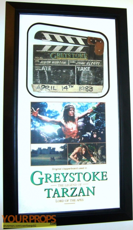 Greystoke  The Legend of Tarzan  Lord of the Apes original production material