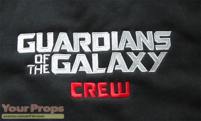 Guardians of the Galaxy original film-crew items