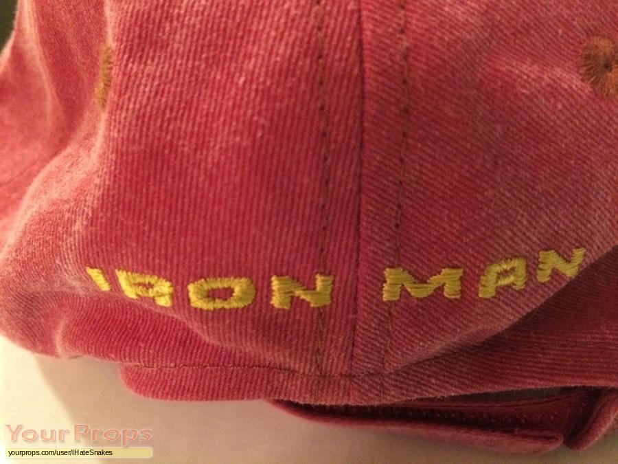 Iron Man original film-crew items