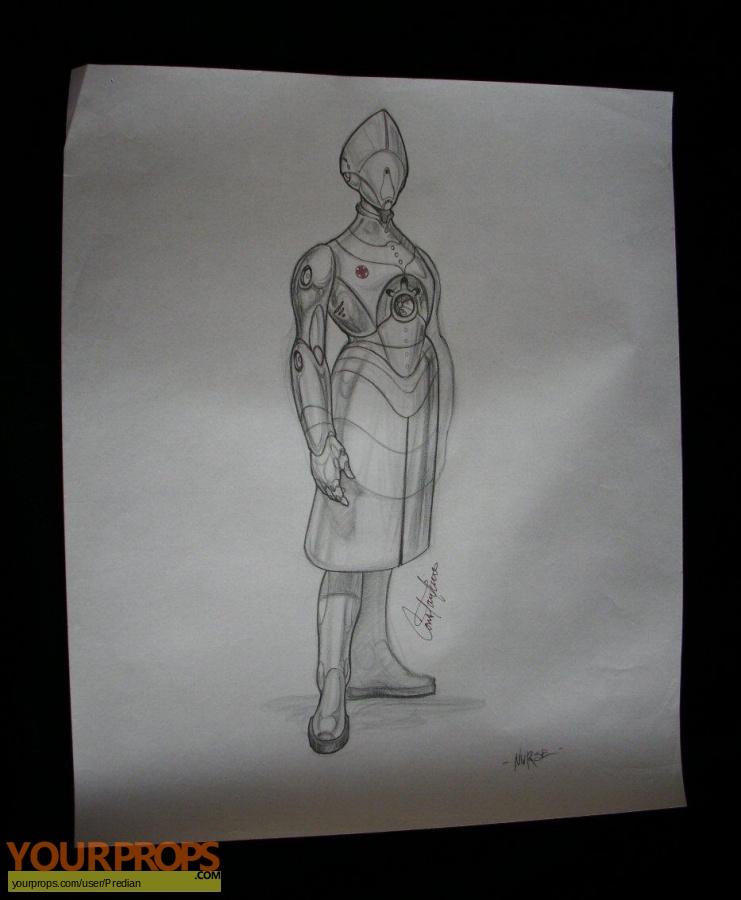 Bicentennial Man original production artwork