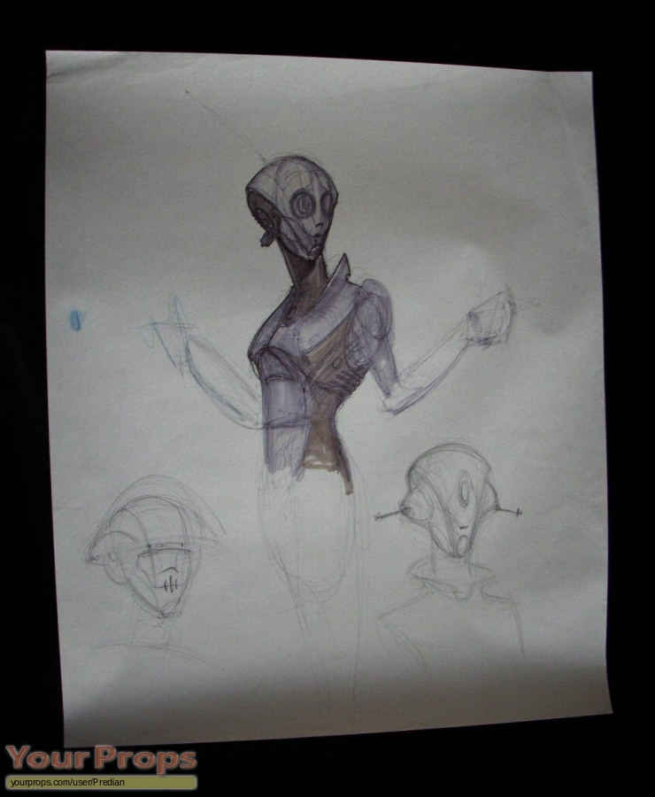 Bicentennial Man original production artwork