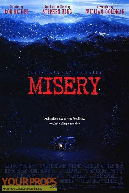 Misery original film-crew items