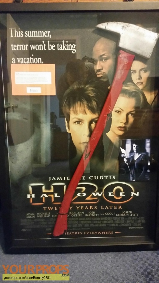 Halloween H20  20 Years Later original movie prop
