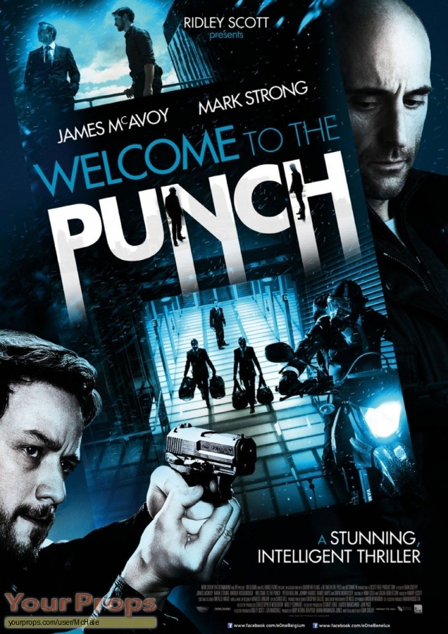 Welcome to the Punch original movie prop