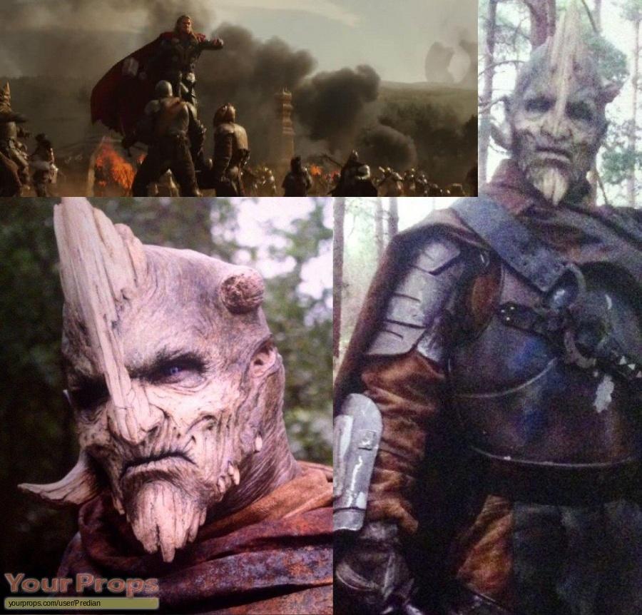 Thor  The Dark World original make-up   prosthetics
