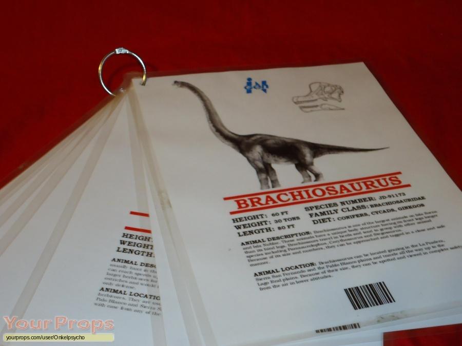 Jurassic Park 2  The Lost World replica movie prop