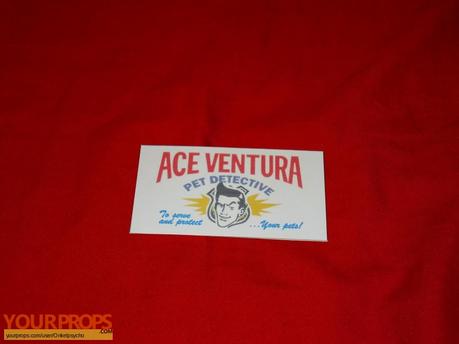 Ace Ventura  Pet Detective replica movie prop