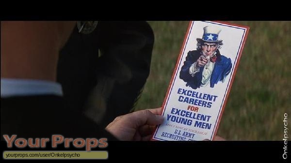 Forrest Gump replica movie prop