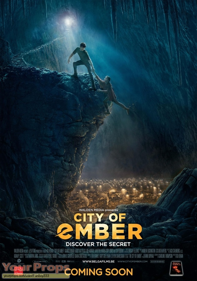 City of Ember replica movie prop