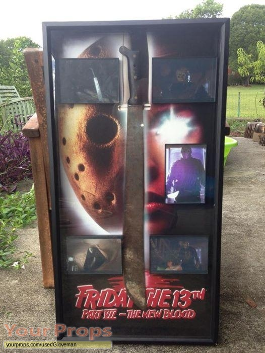 Friday the 13th  Part 7  The New Blood original movie prop