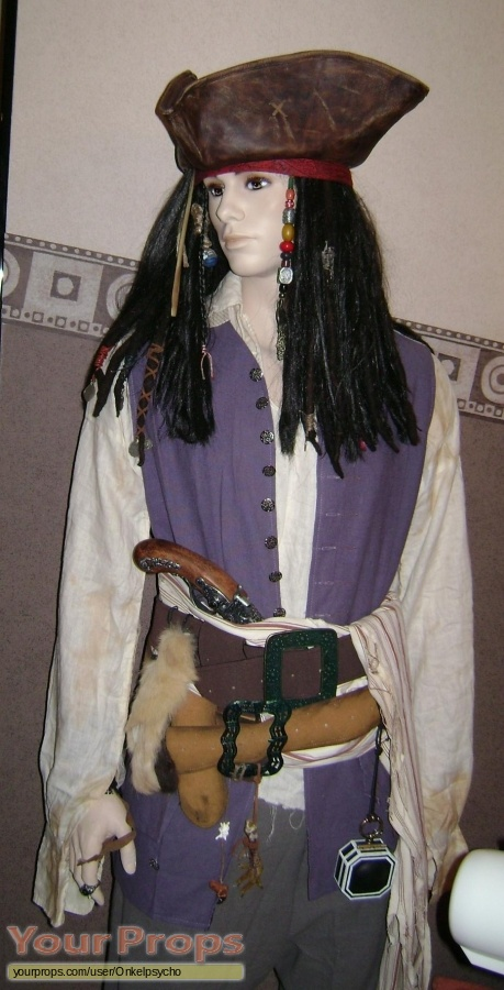 Pirates of the Caribbean movies replica movie costume