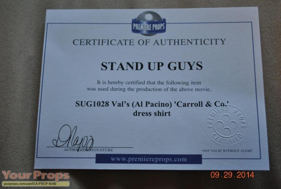 Stand Up Guys original movie costume