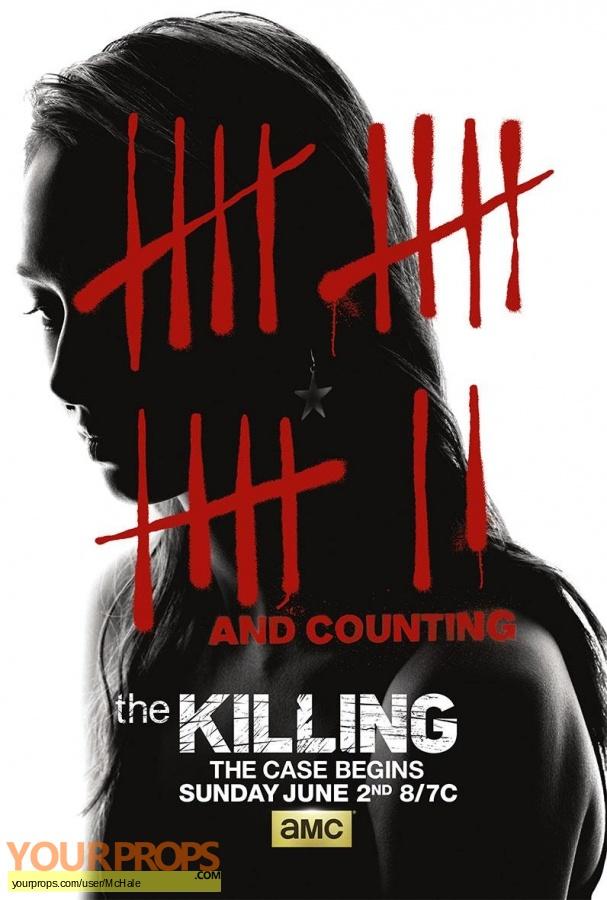 The Killing replica movie prop