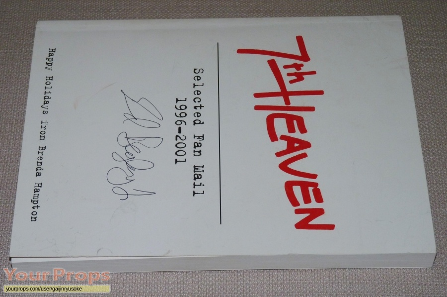 7th Heaven original film-crew items