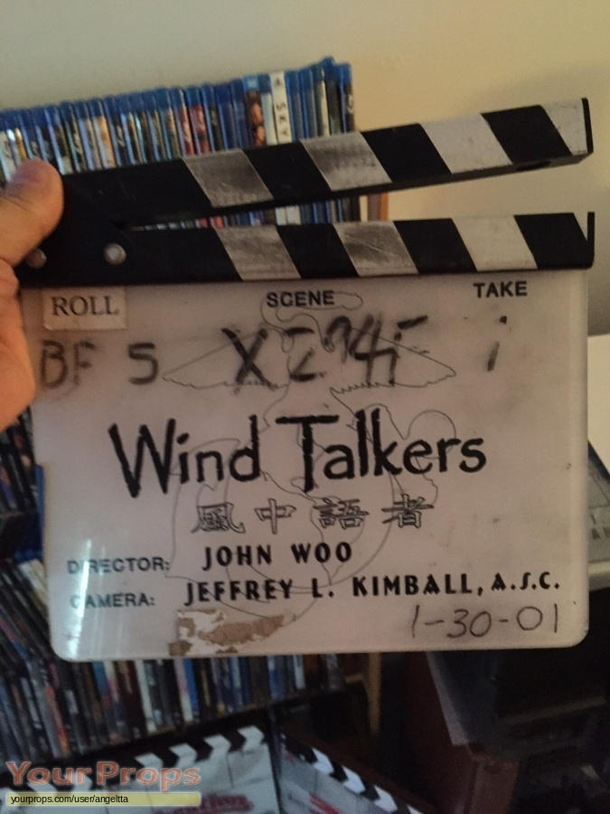 Windtalkers original production material