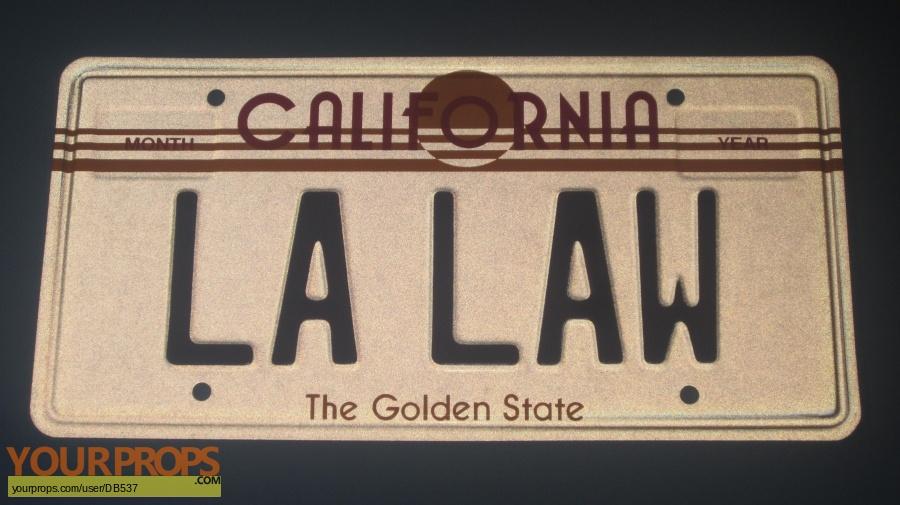 L A  Law replica movie prop