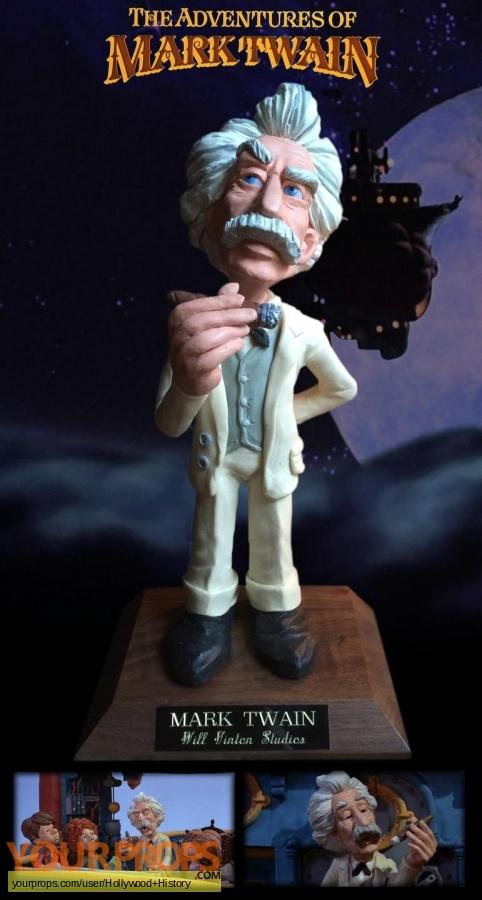 The Adventures of Mark Twain original movie prop