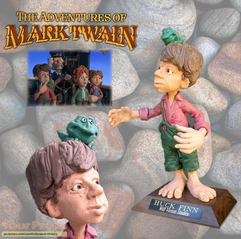 The Adventures of Mark Twain original movie prop