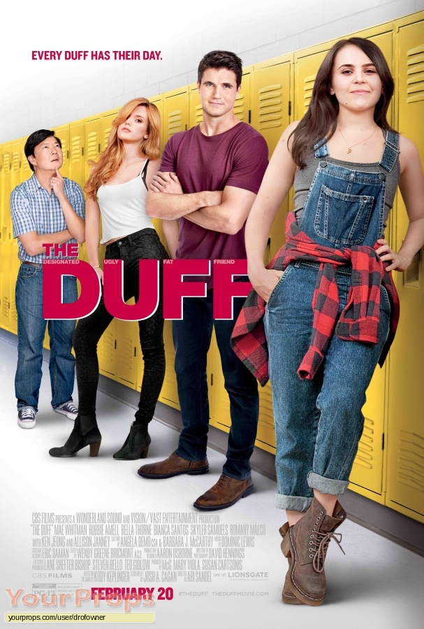 The DUFF original movie costume