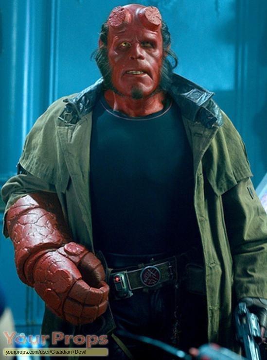 Hellboy original movie prop