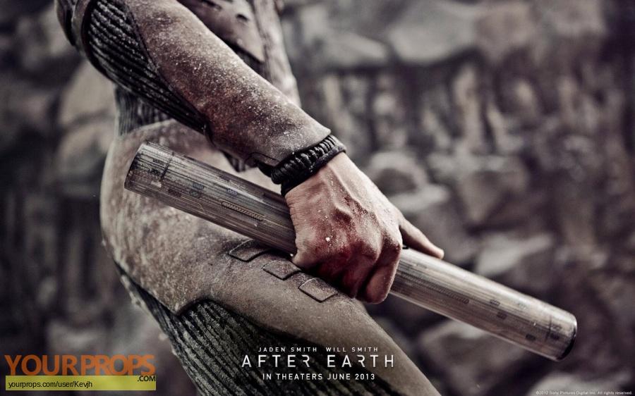 After Earth original movie prop