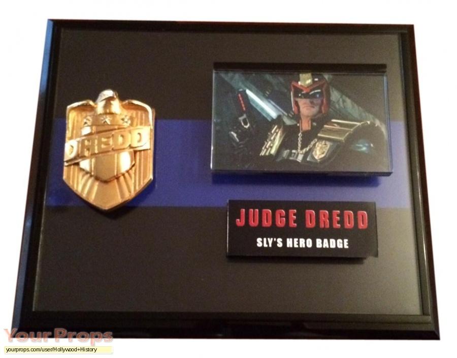 Judge Dredd original movie prop