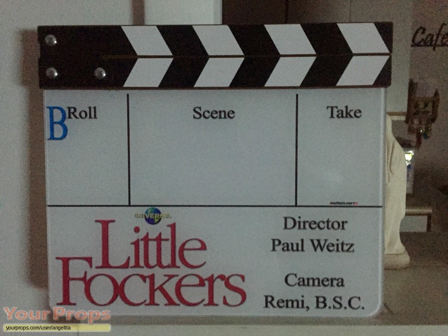 Little Fockers original film-crew items