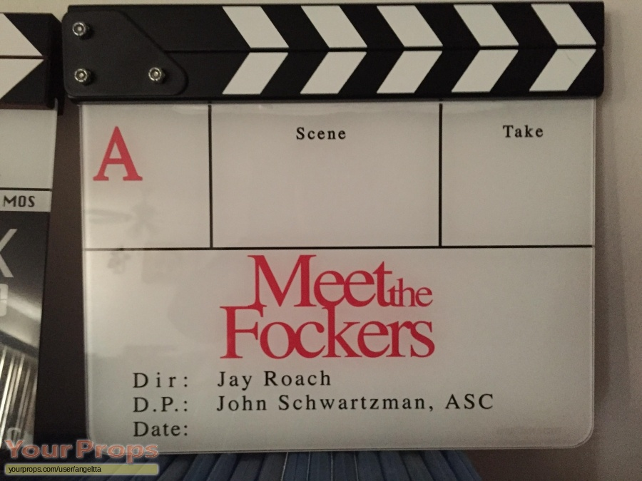 Meet the Fockers original film-crew items