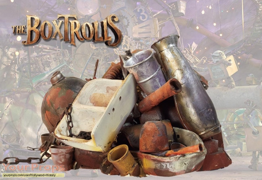 The Boxtrolls original movie prop