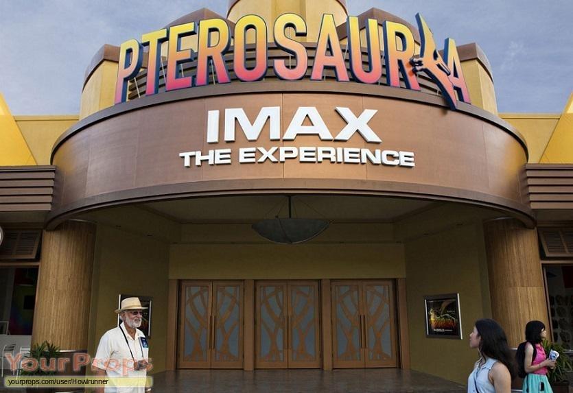 Jurassic World replica movie prop