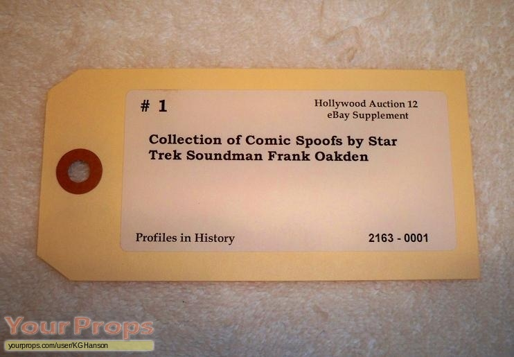 Star Trek  The Original Series original film-crew items
