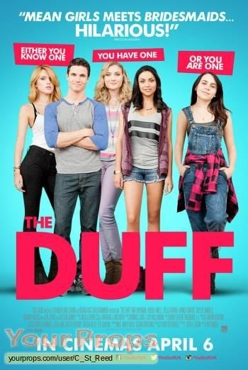 The DUFF original movie prop