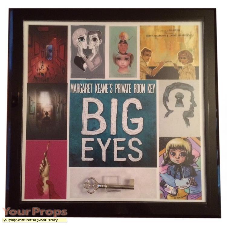 Big Eyes original movie prop
