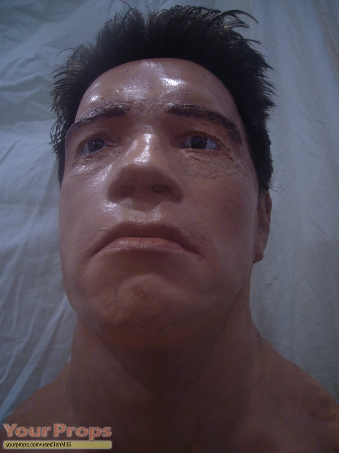 Terminator 2  Judgment Day replica make-up   prosthetics