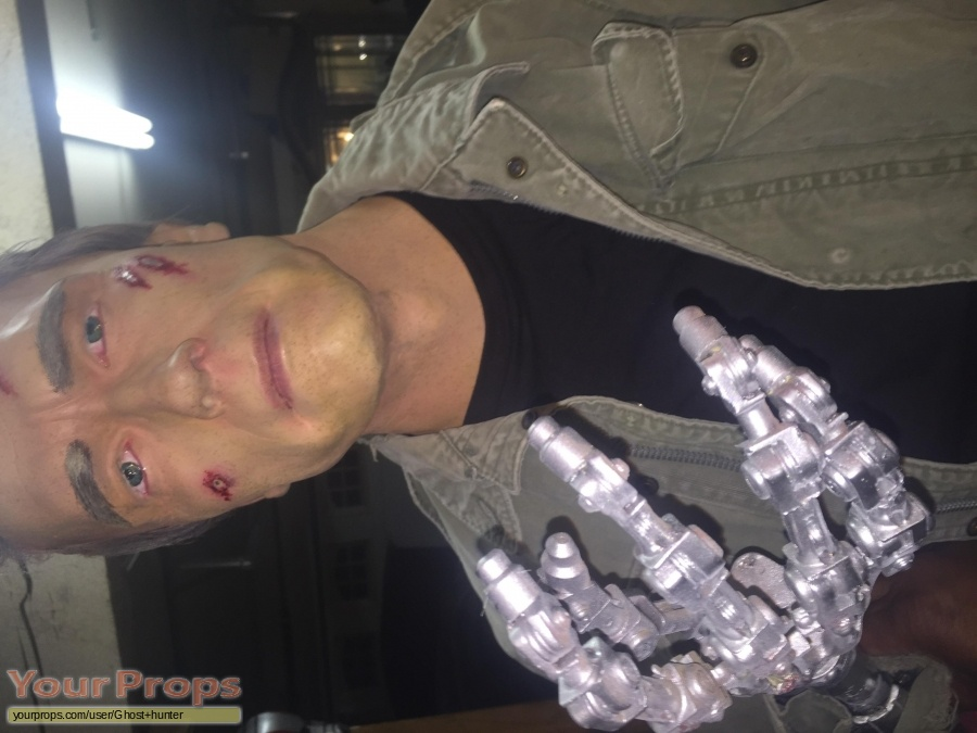 Terminator Genisys made from scratch movie prop