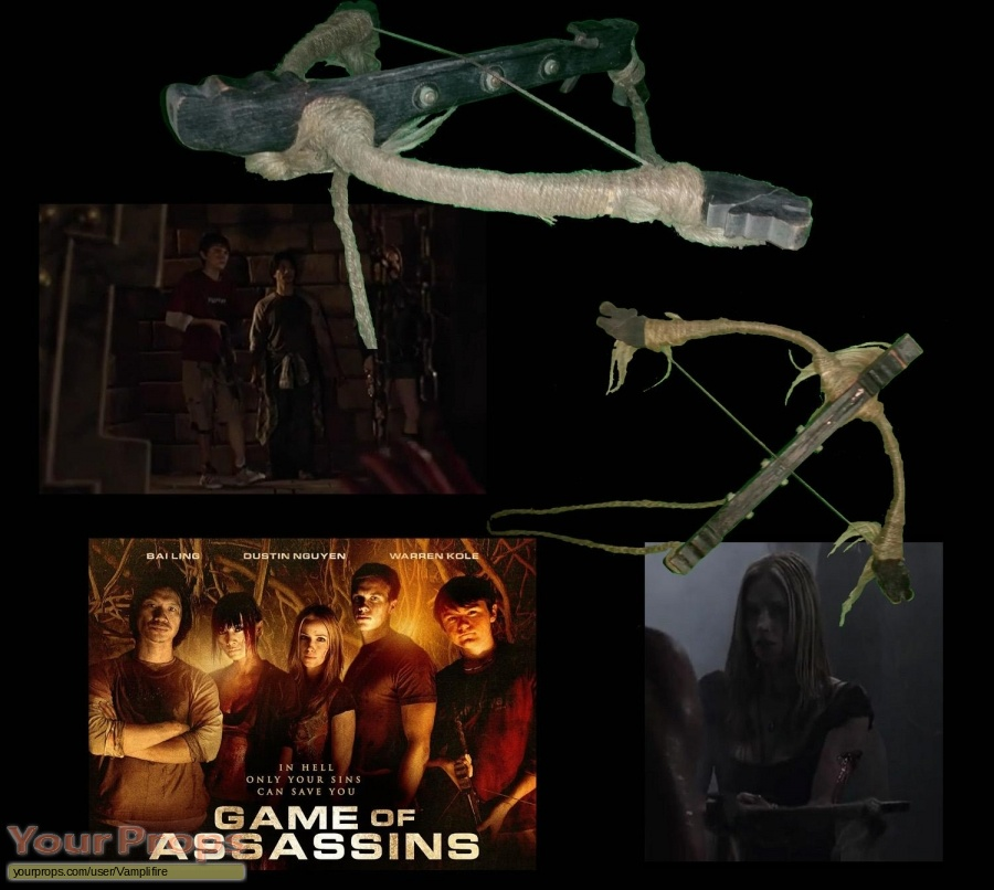 Game of Assassins original movie prop