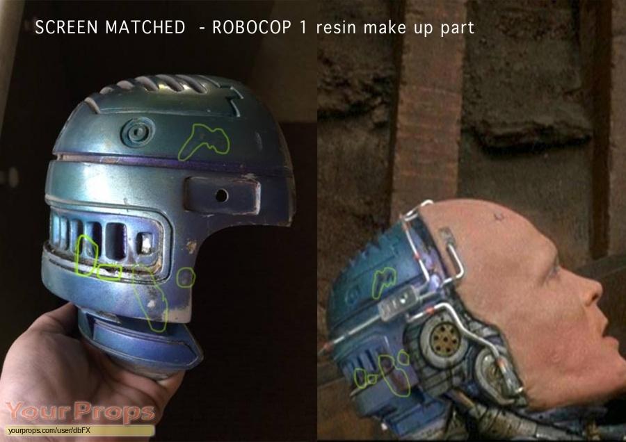 Robocop original movie prop