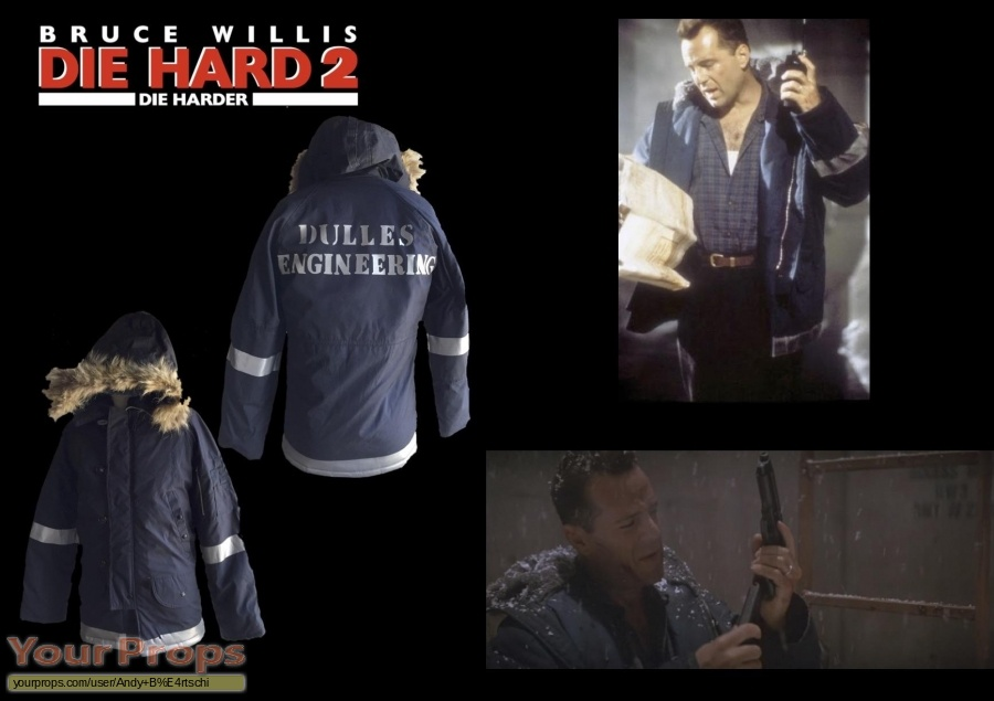 Die Hard 2 original movie costume