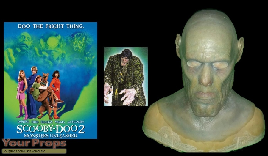Scooby-Doo 2  Monsters Unleashed original production material