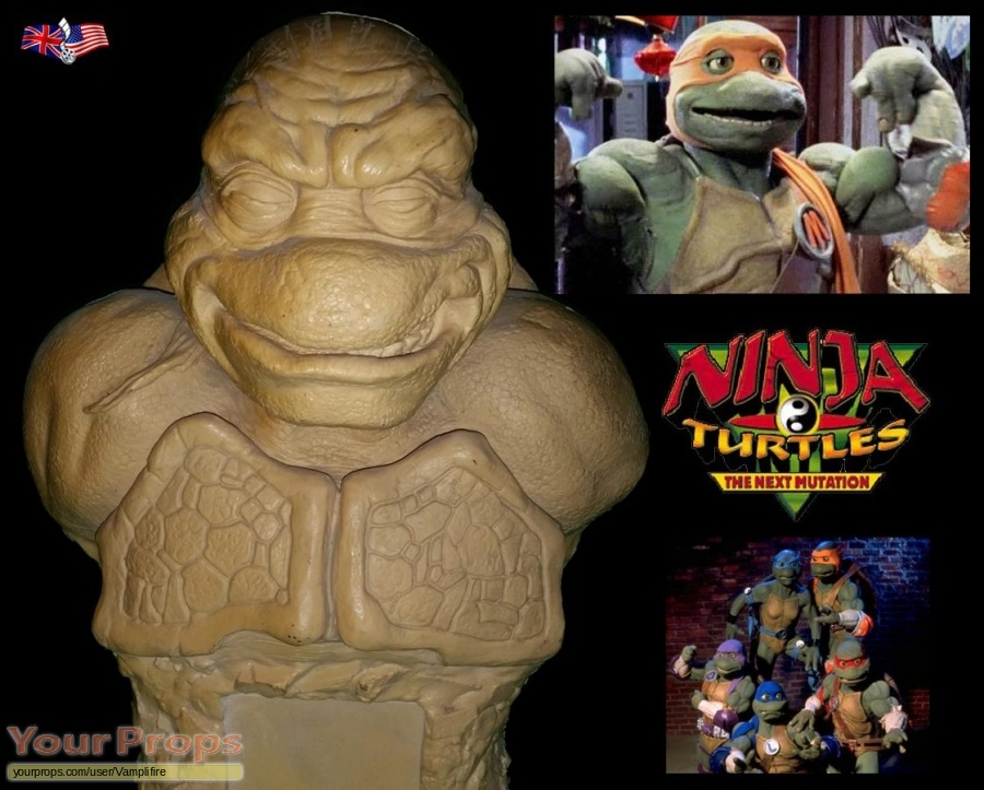 Ninja Turtles  The Next Mutation original production material