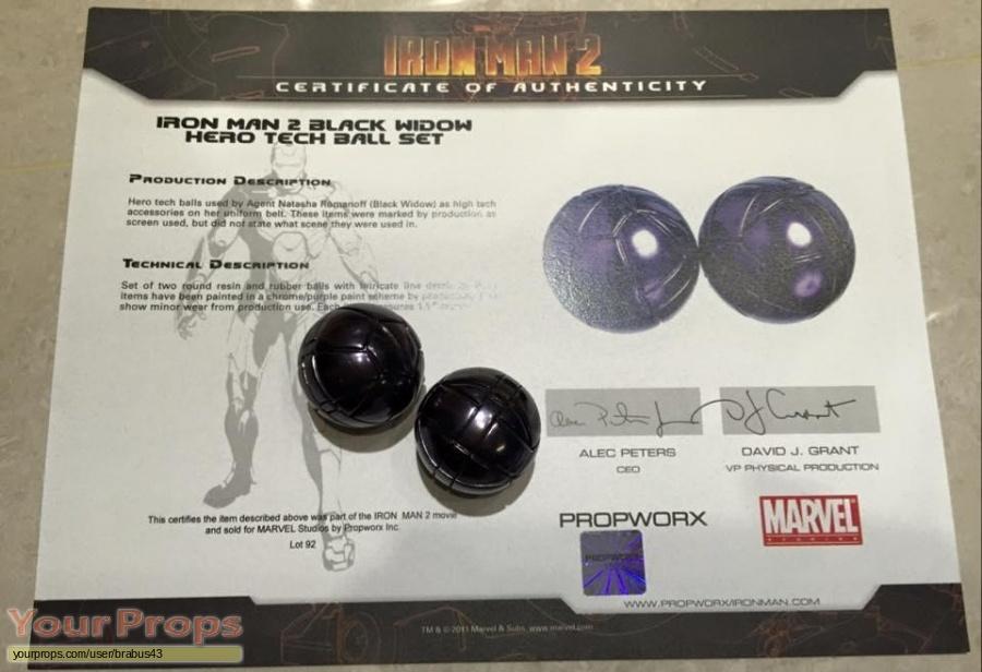 Iron Man 2 original movie prop