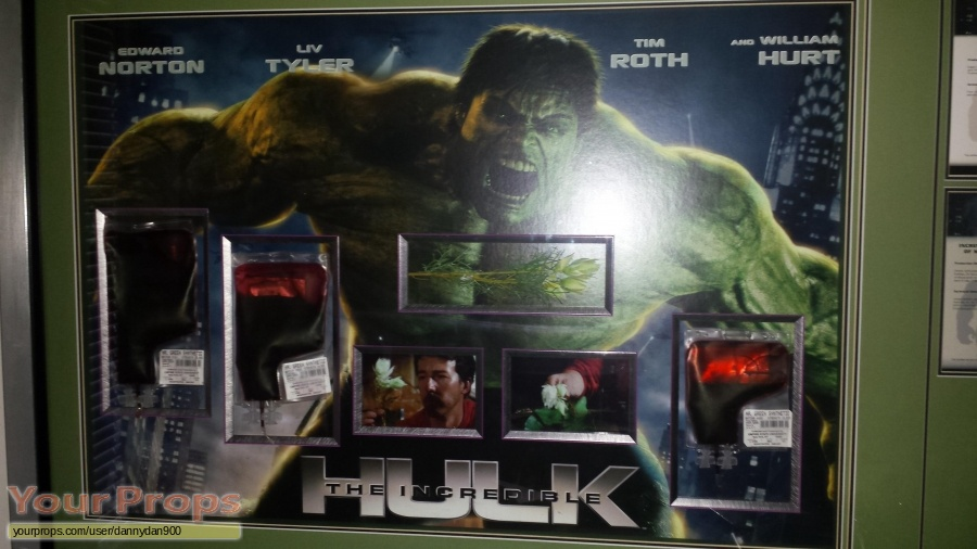 The Incredible Hulk original movie prop