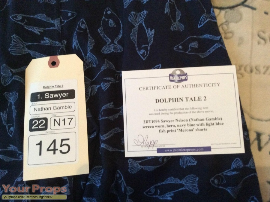 Dolphin Tale 2 original movie costume